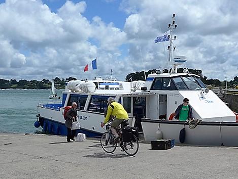 The Ile aux Moines ferry