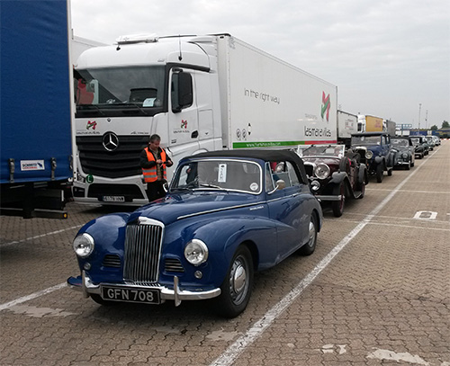 On the grid at Portsmouth
